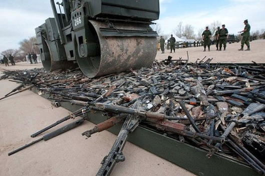 Destruction of Firearms After British Nationwide Confiscation