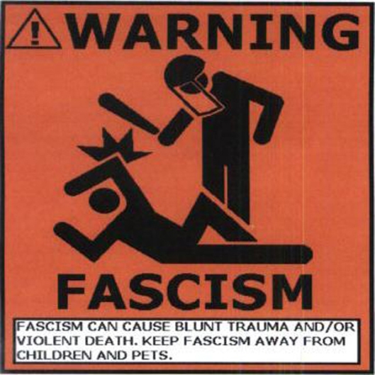 Fascism Warning Sign
