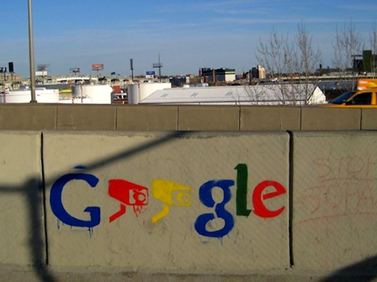 Google Surveillance Grafitti