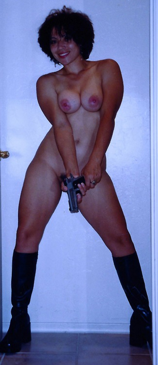 pic of sexy babes with guns nude