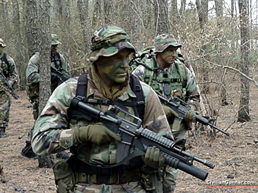 Marine Recon Troops in the Field