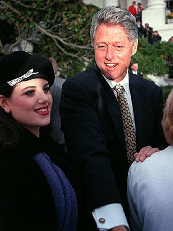 Opinion you monica lewinsky and bill clinton share your