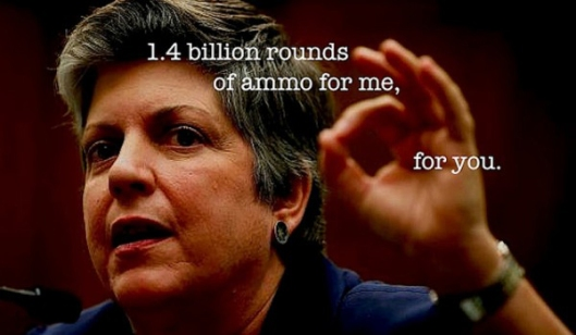 Napolitano - DHS Ammunition Purchase Orders