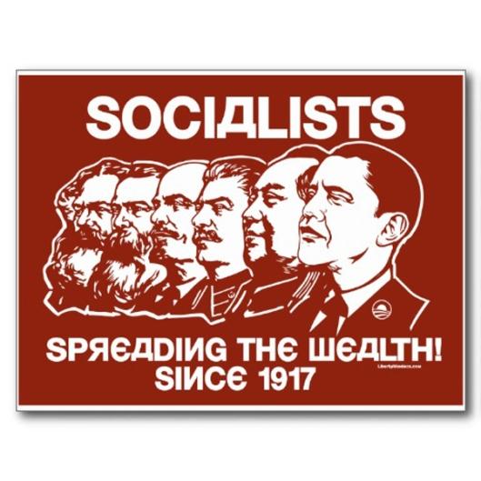 Obama Socialist Poster