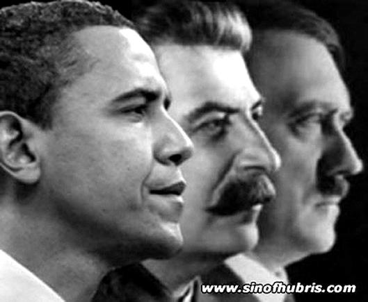 Obama-Stalin-Hitler