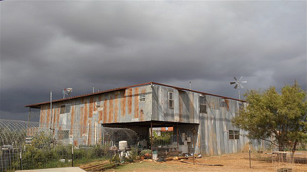 doomsday preppers shipping container fortress