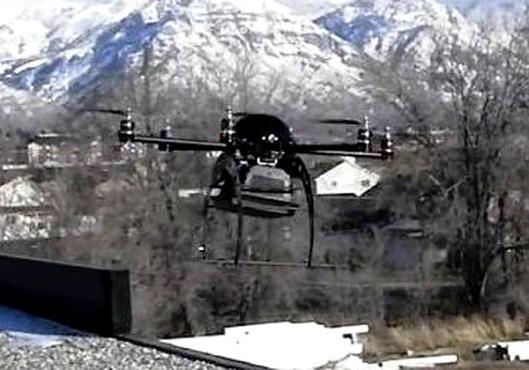 Police UAV Mini-Drone