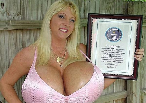 World Record Boob Size 12